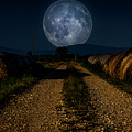 Country Road To The Moon by Wolfgang Stocker