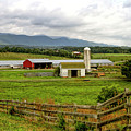 Country Scenic In West Virginia by Geraldine Scull