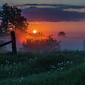 Country Sunrise by Linda Ryma