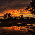 Country Sunset by Graeme Mell