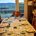 Country Table Setting by James Stewart