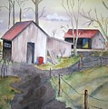 Countryside Dwellings by Audrey Bunchkowski