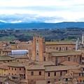 Countryside In Siena by Debbie Fenelon