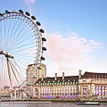 County Hall And London Eye by Terri Waters