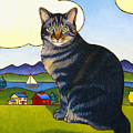 Coupeville Cat by Stacey Neumiller