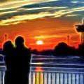 Romantic Sunrise. by Viktor Birkus