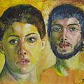 Couple by Raija Merila