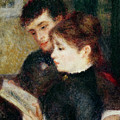 Couple Reading by Pierre Auguste Renoir