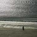 Couple Seascape by Tsafreer Bernstein