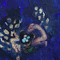 Couple With Eggs by Merav Shomer