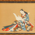 Courtesan Writing A Letter by Mountain Dreams