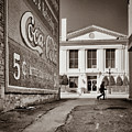Courthouse Alley - Laurens, Sc by Samuel M Purvis III