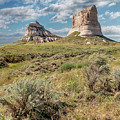Courthouse And Jail Rocks by Susan Rissi Tregoning