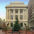 Courthouse At Christmas by Greg Joens