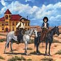 Courthouse Cowboys by Liz Nichols