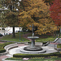 Courthouse Square In Rockville Maryland by William Kuta