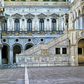 Courtyard At The Doge Palace by Dave Mills
