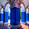 Courtyard In Santa Catalina Convent by Colin Woods