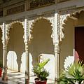 Courtyard, Rajasthan, India by Aashish Vaidya