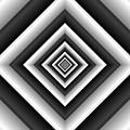 Covariance  6 Modern Geometric Black White by TJ Art