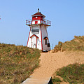 Covehead Harbour Lighthouse 5701 by Jack Schultz