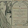 Cover Page From Lestampe Moderne by Alphonse Marie Mucha