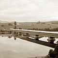 Very Long Covered Bridge Over A River by California Views Archives Mr Pat Hathaway Archives
