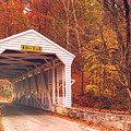Covered Bridge At Valley Forge by Rima Biswas