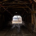 Covered Bridge by Dwight Eddington