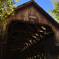 Covered Bridge In Woodstock by Penn Patrick