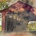 Utica Mills Covered Bridge by Mal-Z
