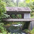 Covered Bridge Of Cedar Creek by Laurie Kidd