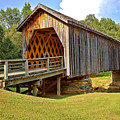 Covered Bridge Over Auchumpkee Creek by Gordon Elwell