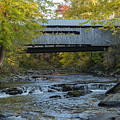 Covered Bridge Over Brown River by Bob Phillips