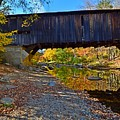 Covered Bridge Over The Cold River by Steve Brown