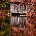 Covered Bridge Reflection by Jeff Folger