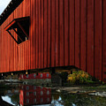 Covered Bridge Reflections by Mel Steinhauer