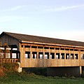 Covered Bridge To Rockwood by Bruce Bley