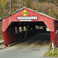 Covered Bridge Vermont by John Greim