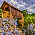 Covered Bridge, Vt by Vito Palmisano