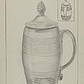Covered Mug by Gertrude Lemberg