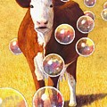 Cow Bubbles by Catherine G McElroy