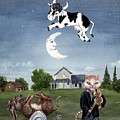 Cow Jumped Over The Moon by Sherry Holder Hunt