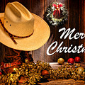 Cowboy Christmas Party - Merry Christmas by Olivier Le Queinec
