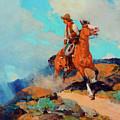 Cowboy by Frank Tenney Johnson