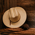 Cowboy Hat And Gear by Olivier Le Queinec