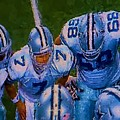 Cowboy Huddle by Steven Richardson