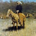 Cowboy Singing by Granger