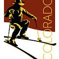 Colorado Cowboy Skier by Sam Brennan