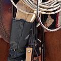 Cowboy Tack by Joan Carroll